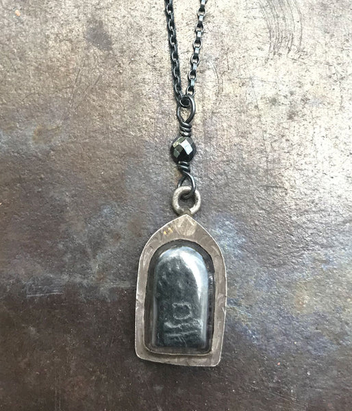 Vintage Sterling & Clay Buddha