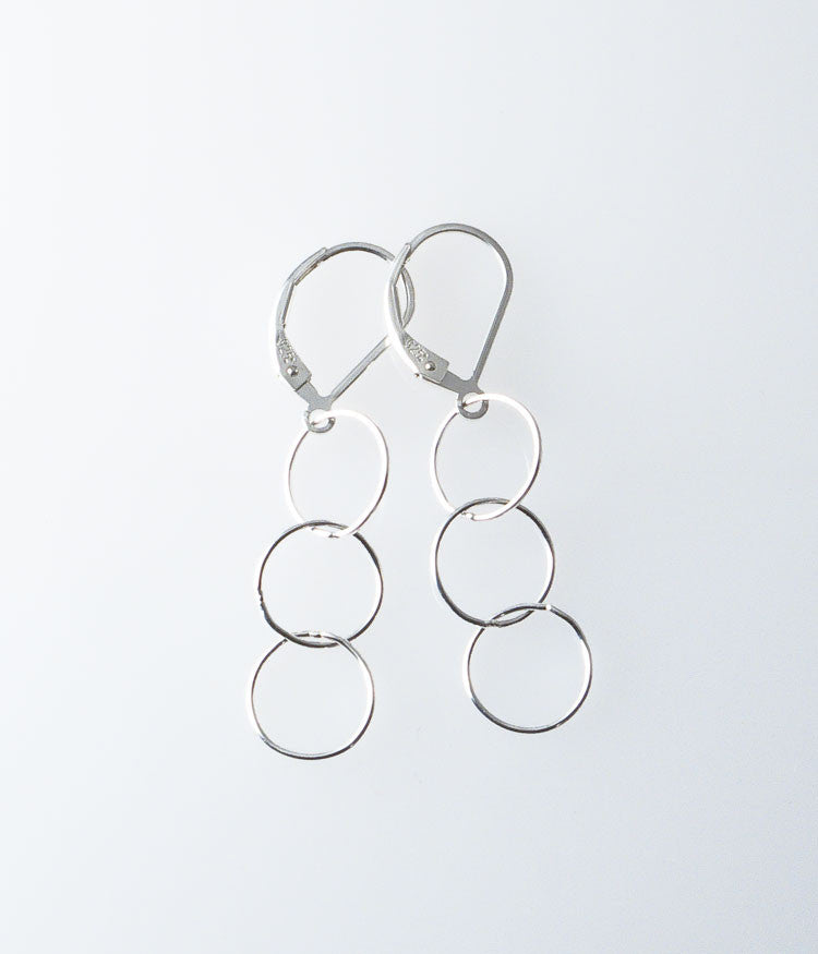 Fine Circle Earrings