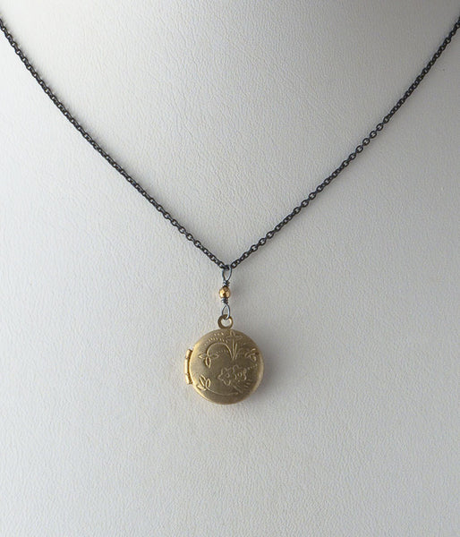 Tiny Round Locket