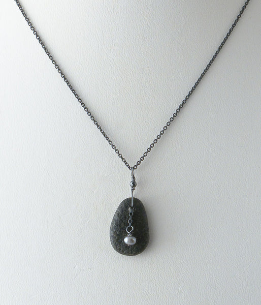 Miniature Zen Garden Necklace