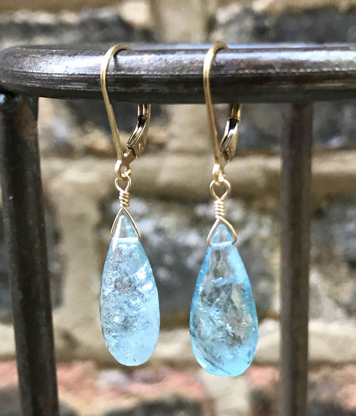 Stunning Aquamarine Earrings
