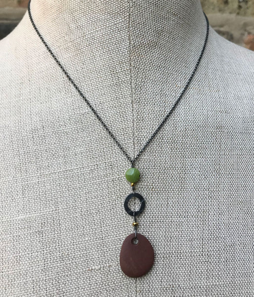Zen Autumn Necklace