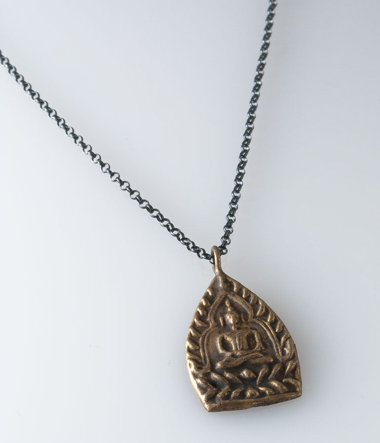 Long Buddha Necklace