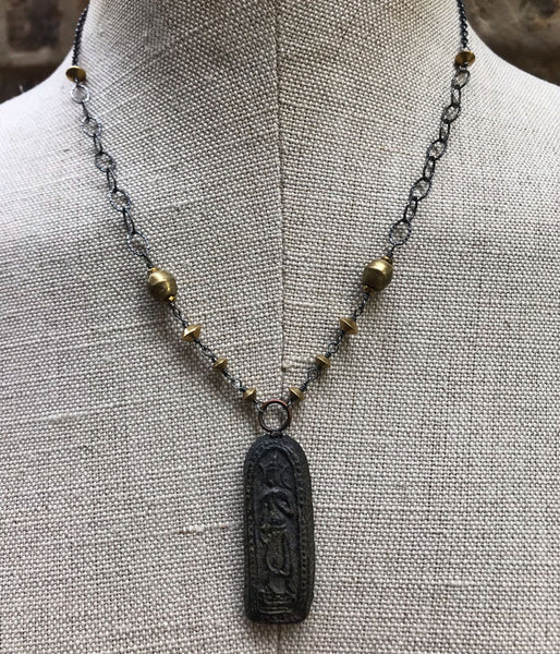 Walking Buddha Necklace