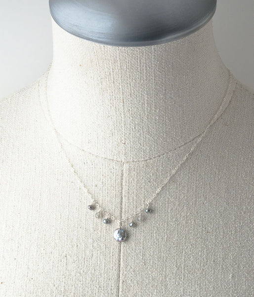 Kelly Necklace (pewter)