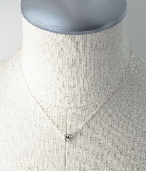 Sterling Nubby Necklace