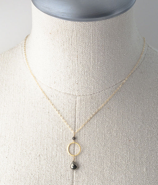 Sharice Necklace (pyrite)