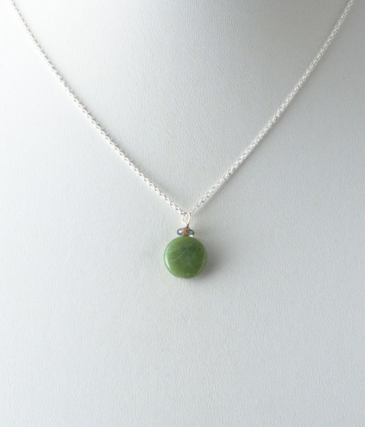 Simple Jade Necklace