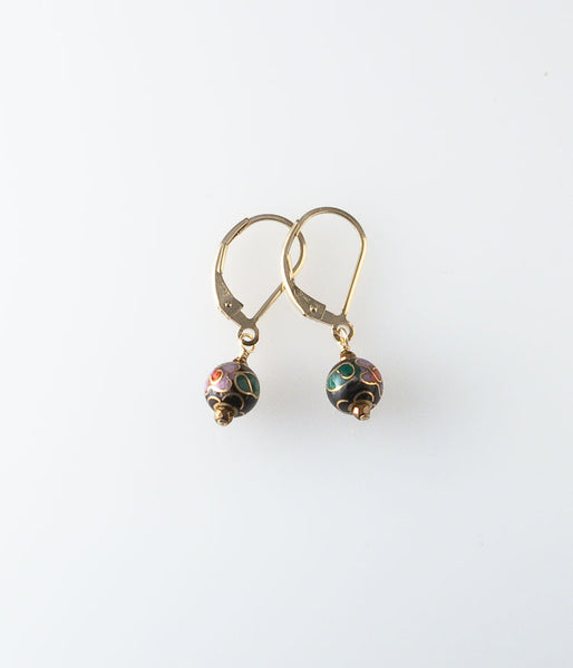 Cloissoné Earrings