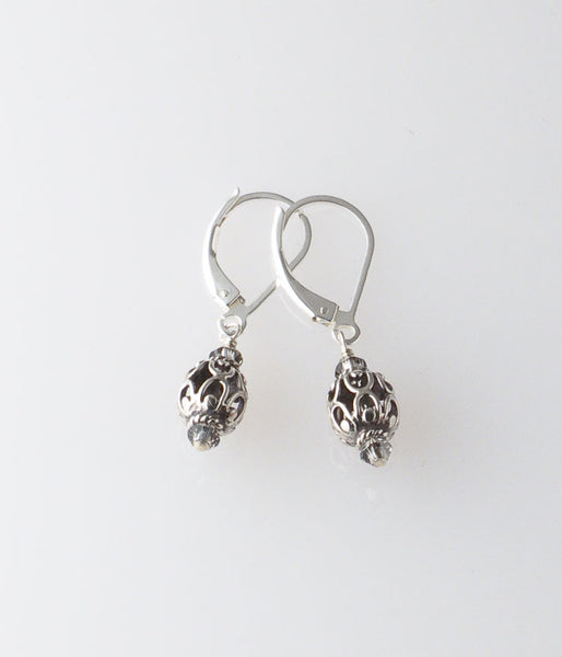 Sterling Filigree Earrings