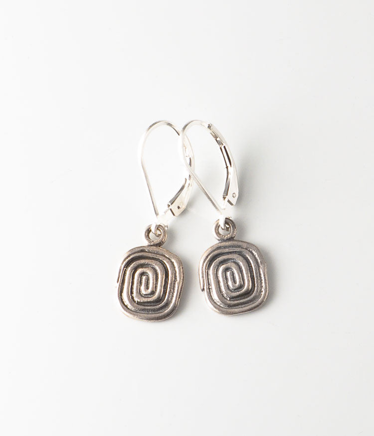 Sterling Coil Earrings