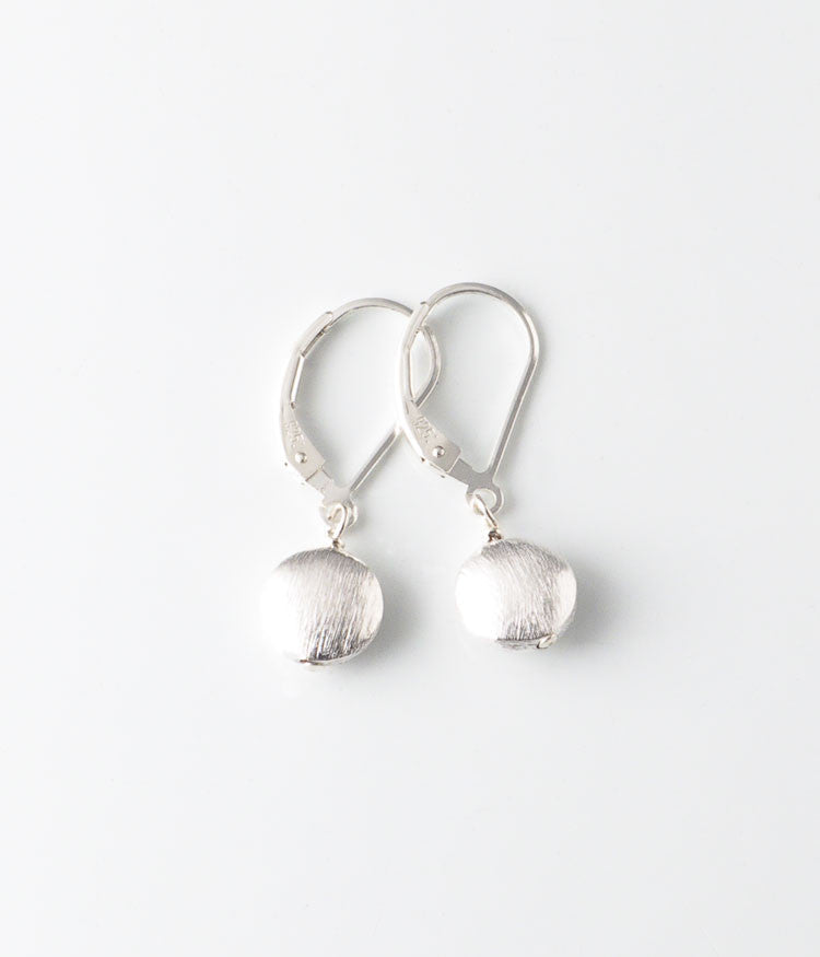 Brushed Sterling Earrings