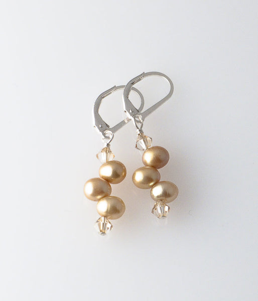 Grace Earrings (champagne)