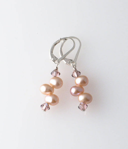 Grace Earrings (rose)