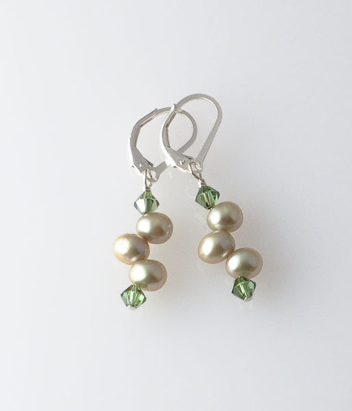 Grace Earrings (sage)