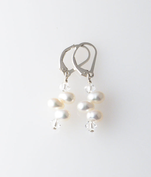 Grace Earrings (white)