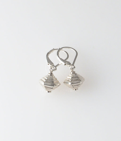 Modern Sterling Earrings