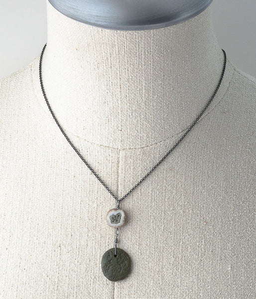 Solar Quartz Zen Necklace