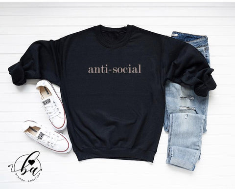 Blonde Ambition Anti-Social Sweater