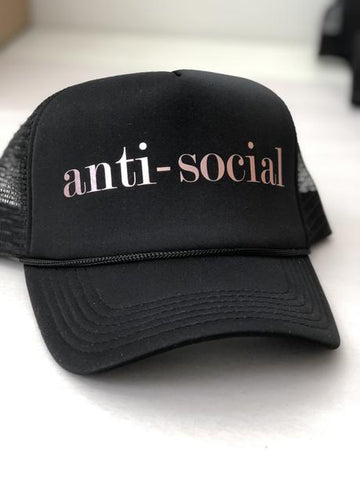 Anti-Social Trucker Cap