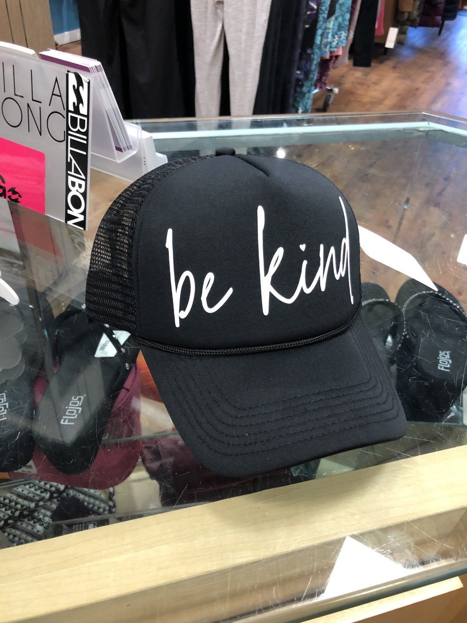 Blonde Ambition Be Kind Trucker Cap