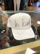 Load image into Gallery viewer, Blonde Ambition Be Kind Trucker Cap