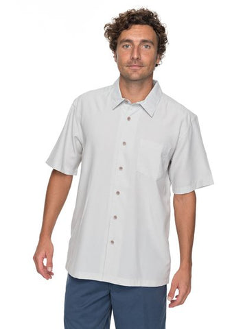 Quiksilver Waterman Cane Island Short Sleeve Shirt