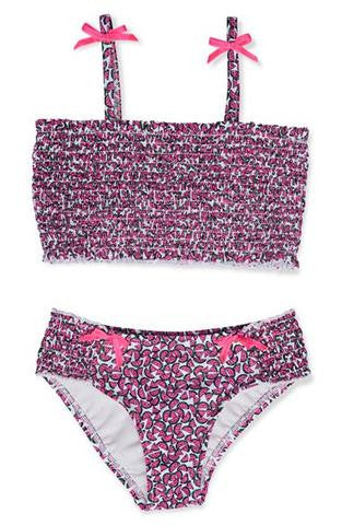 Hula Star Heads Up Bandeau 2 Piece Bikini Set