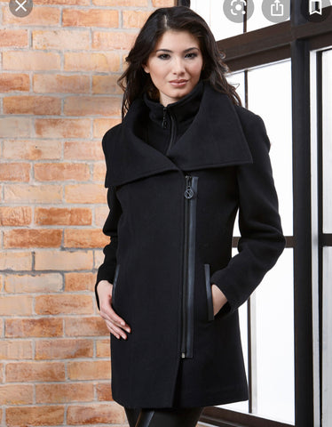 Nikki Jones Cashmere Wool Coat 9513