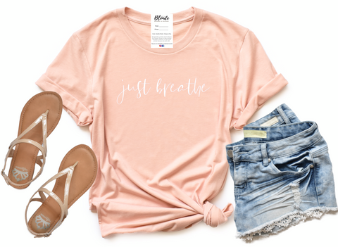 Blonde Ambition Just Breathe T-Shirt