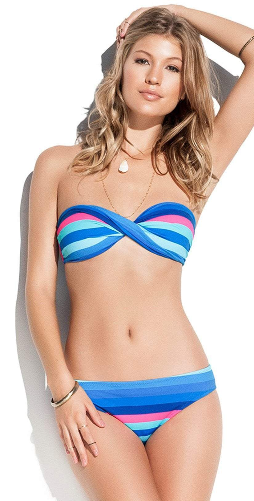 Phax Elemental Ray Bandeau Bikini Set