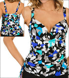 Penbrooke Color Angles Tankini Set