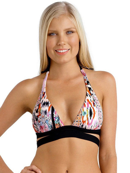 Seafolly Beach Gypsy Halter & Split Band Bikini Set