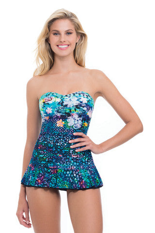 Profile Paradise Bay Bandeau Swimdress