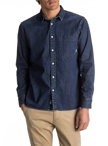 Quiksilver Denim Long Sleeve Shirt