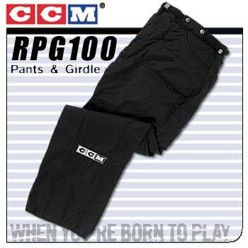CCM PG100 Referee pant and girdle combo