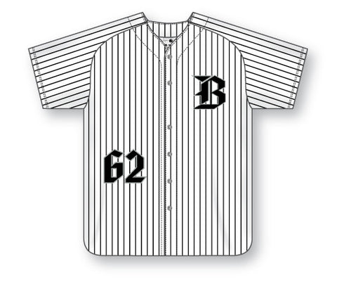 AK Full Button Series BA524 Baseball Jerseys