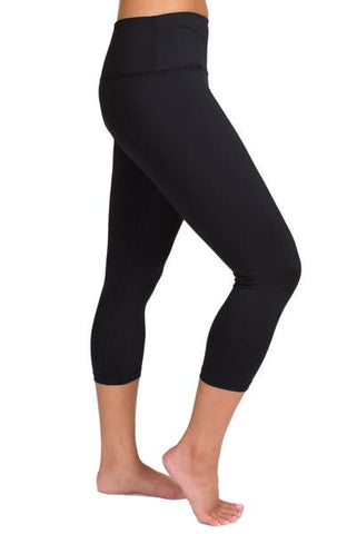 Inner Fire Capri Black Yoga Bottom