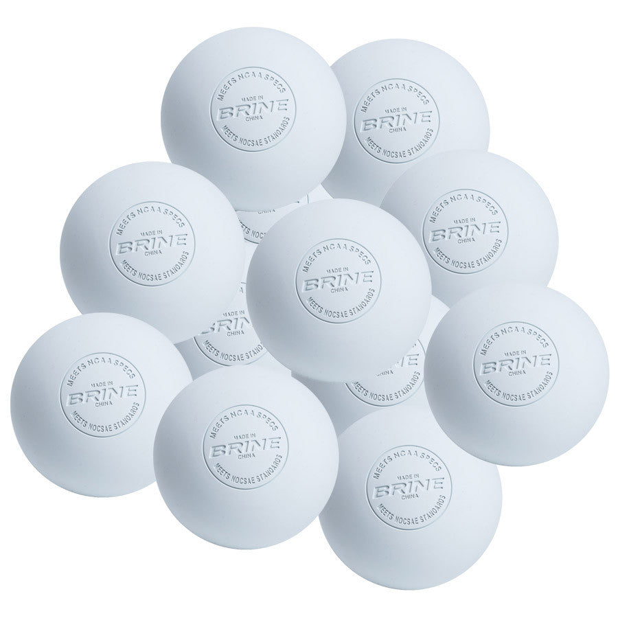 Warrior CLA Approved Lacrosse Balls(white)
