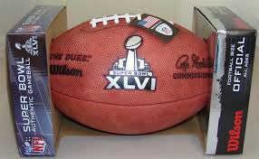 Wilson OFFICIAL SIZE Super Bowl Authentic Gameball