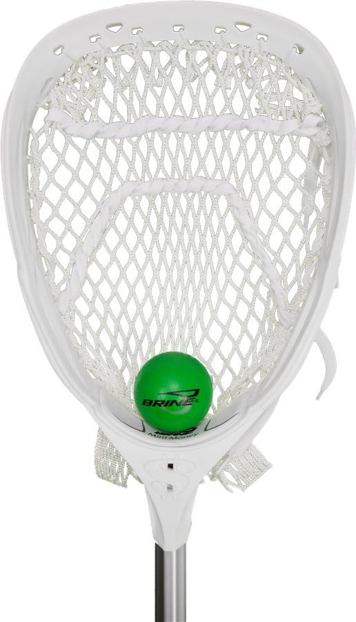 Brine Mini Money Goalie Lacrosse Stick