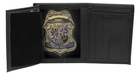 Baltimore Police Recessed Badge Wallet