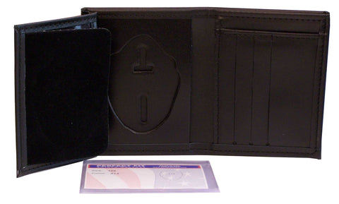 Alaska State Trooper Recessed Badge Wallet