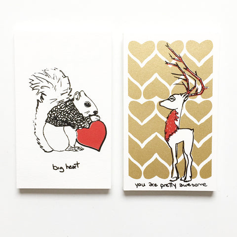Wildlife and Myth Valentines