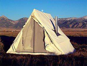 Additional Tents - Montana Canvas Wedge Tent
