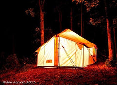 Special - Selkirk Spike Tent Package Tent Frame Floor Fly Stove Special. WALL TENTS & CANVAS TENTS