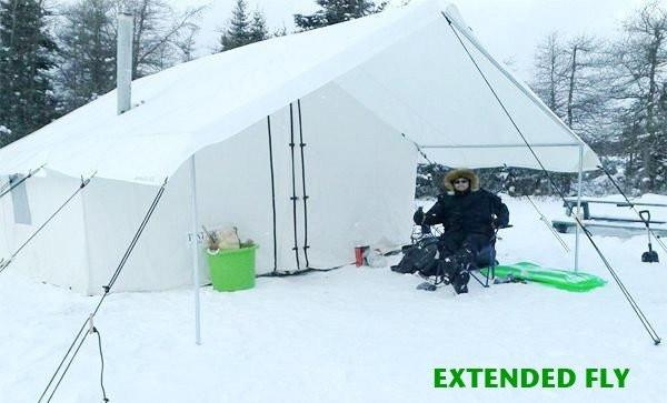 Special - Wilderness Hunting Tent &  ANGLE KIT