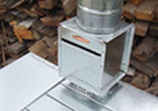 Stove Accessories - In-Line Spark Box /Arrestor