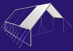 Tent Accessories - 8' Canvas Awning For Wilderness Tent