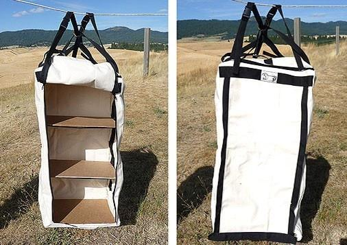Tent Accessories - Canvas Cupboard